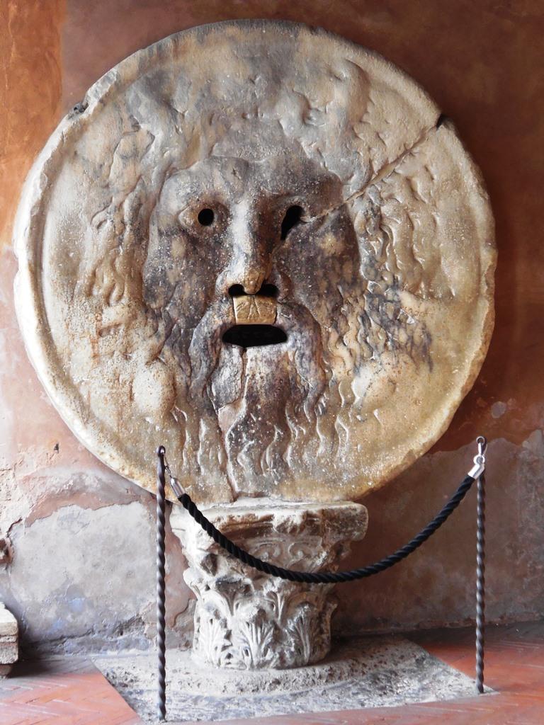 Bocca della Verita_Mund der Wahrheit Rom
