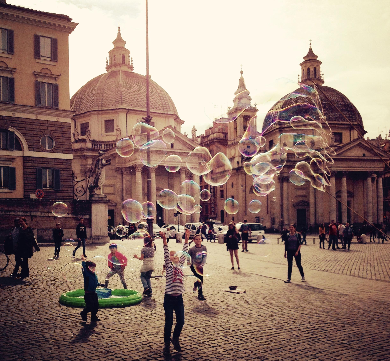 Rom mit Kindern_Piazza del popolo