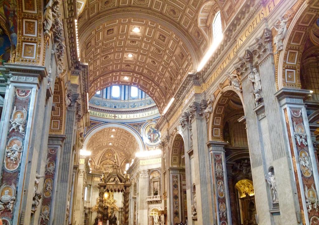 Petersdom_Rom_Messe im Vatikan
