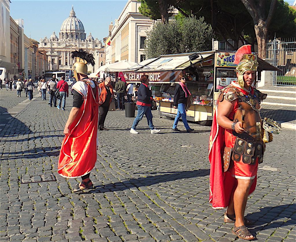 Rom mit Kindern Gladiatoren