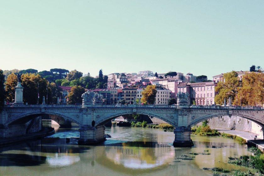 Tiberbrücke in Rom
