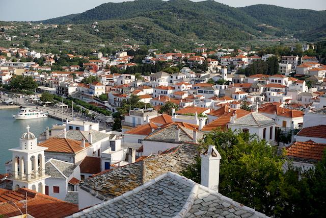 Chora Skopelos Stadt