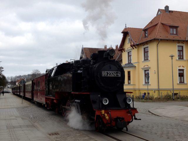 Dampflock, Schmalspurbahn Molli
