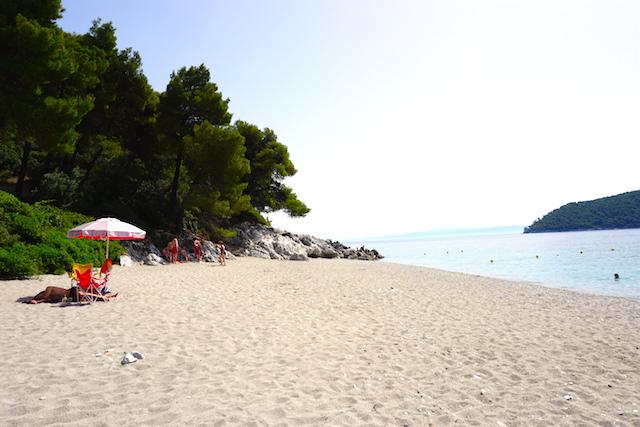 Mamma Mia Insel Skopelos, Kastani Strand