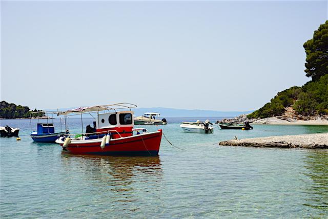 Panormos Beach, Mamma Mia-Insel Skopelos