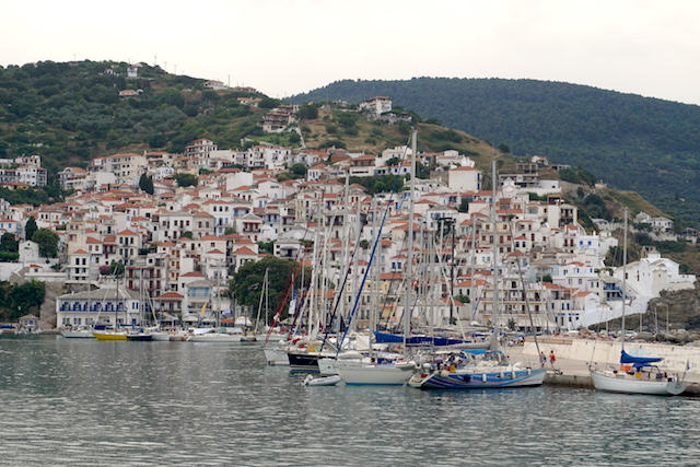 Chora Skopelos Stadt Mamma Mia Insel