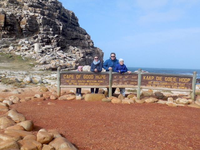 Familienreise Südafrika, Kap der Guten Hoffnung