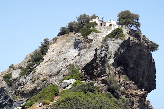 Kirche Mamma Mia Skopelos