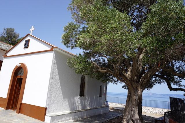 Kirche Mamma Mia Film Skopelos