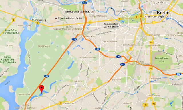 Ausflugstipp Schlachtensee Berlin