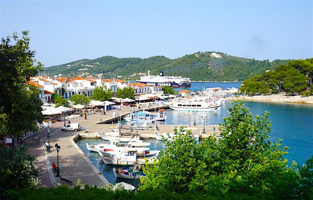 Sporaden, Insel Skiathos, Hafen