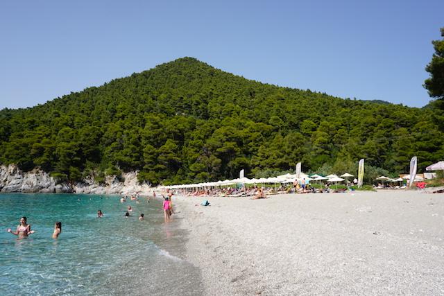 Strand Mamma Mia Insel Skopelos