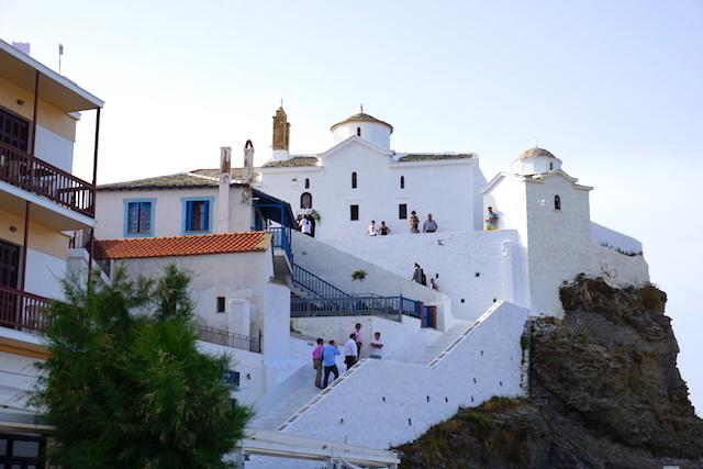 Heiraten auf Skopelos, Griechenland