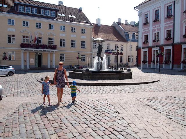 Estland Reisetipp, Marktplatz Tartu