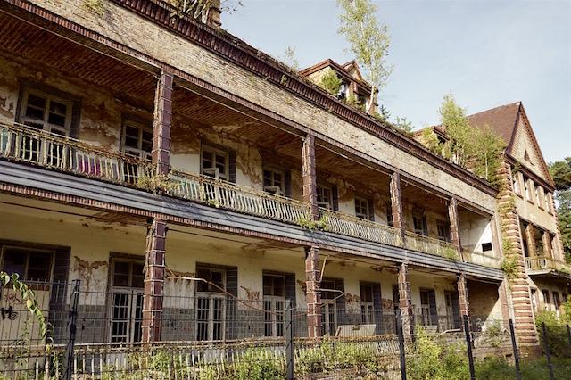 Die Chirurgie, Beelitz Heilstätten, lost places Brandenburg