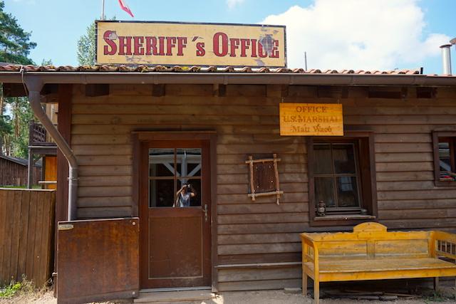 Sheriff`s Office Westernstadt El Dorado
