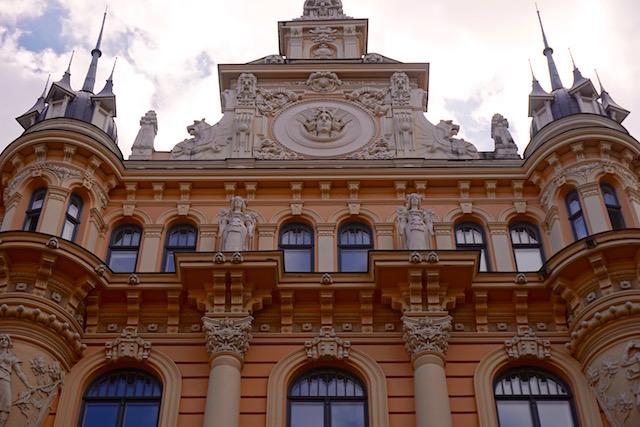 Riga, Jugendstil-Viertel