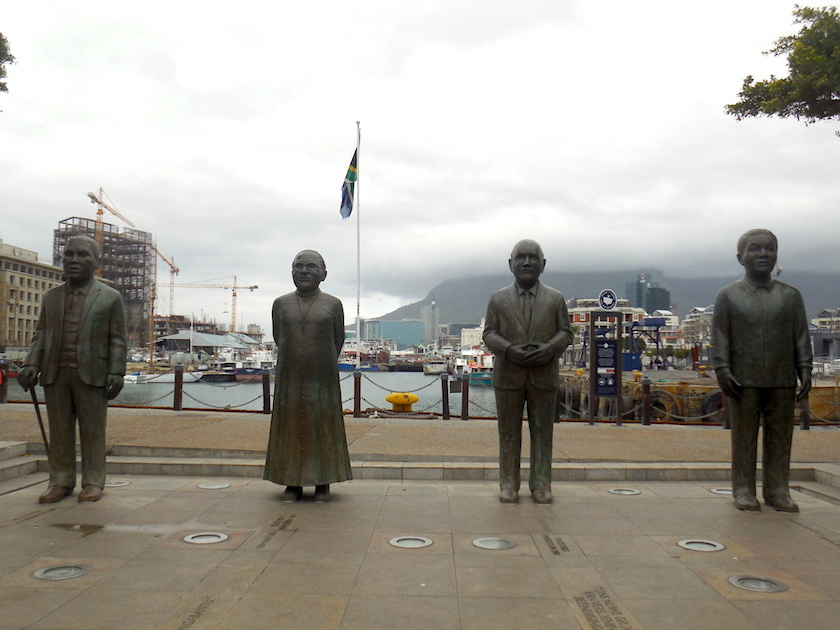 V&A Waterfront, Kapstadt, Friedensnobelpreisträger