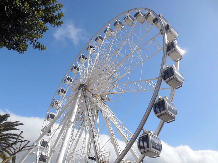 Kapstadt Highlights mit Kindern, Riesenrad Victoria & Alfred Waterfront