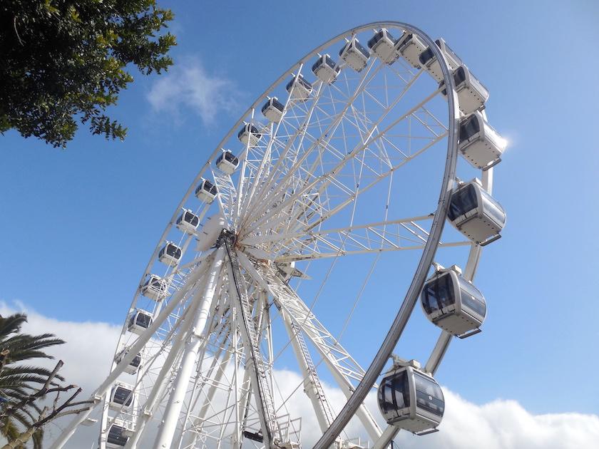 Kapstadt Highlights mit Kindern, Riesenrad Victoria & Alfred Waterfront