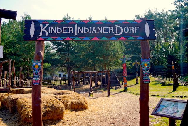 Kinderindianerdorf Westernstadt El Dorado Uckermark, Brandenburg