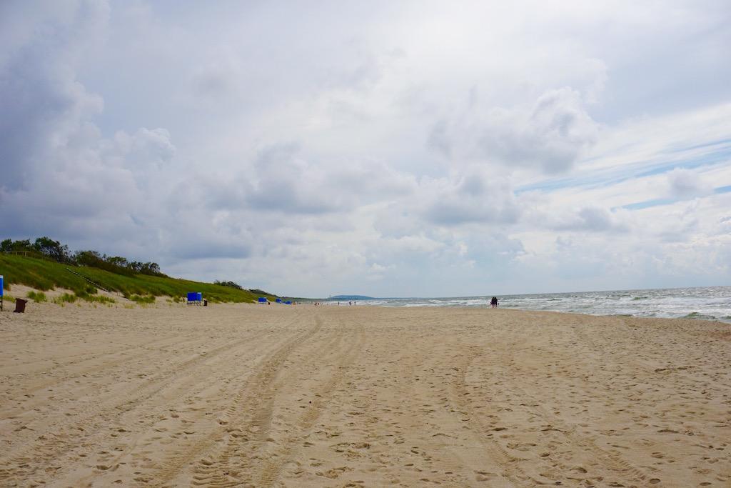 Ostsee Strand Kurische Nehrung, Litauen
