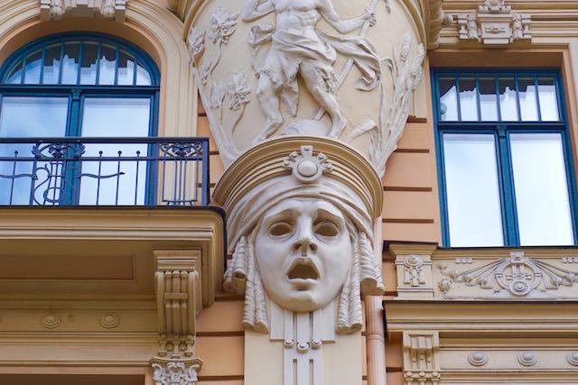 Jugendstilhäuser in Riga