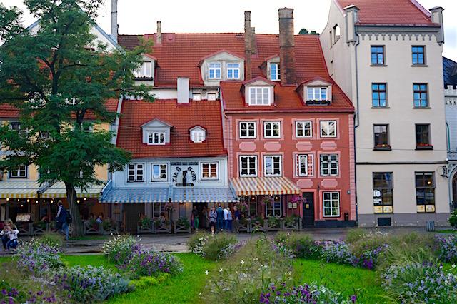 Livenplatz Riga Altstadt