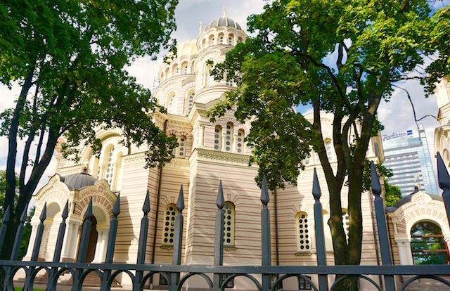 Russisch-orthodoxe Kirche, Geburtskathedrale Riga