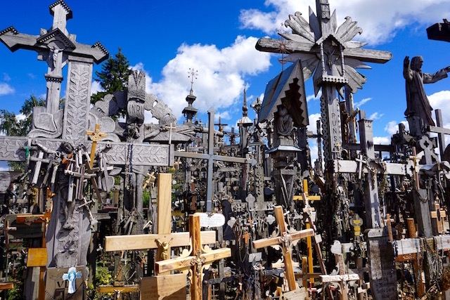 Wallfahrtsort Berg der Kreuze Litauen
