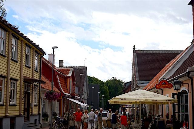 Estland Sommerhauptstadt Pärnu