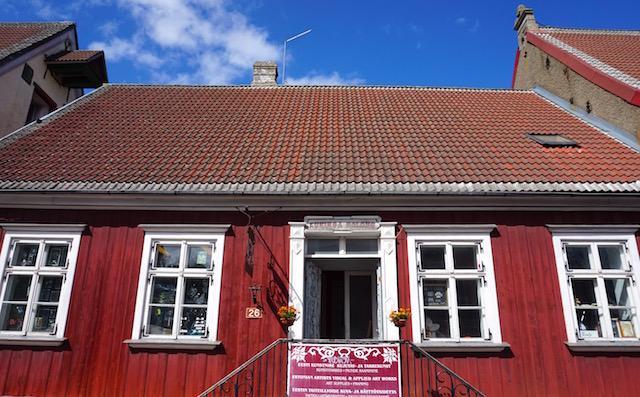 Estland Holzhaus in Pärnu