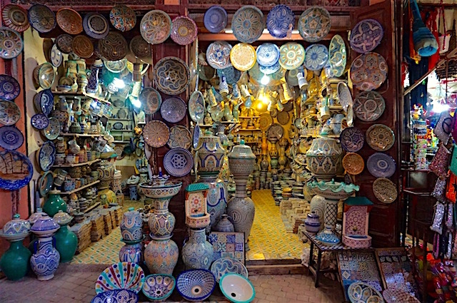 Marrakesch Souks, Shoppen