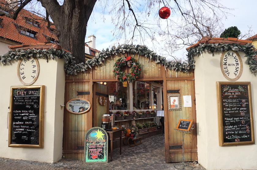 Kleinseite Prag, Café