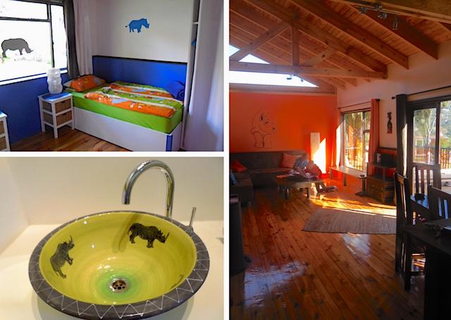 Kapstadt familienfreundlich, African Family Farm, Haus Nashorn
