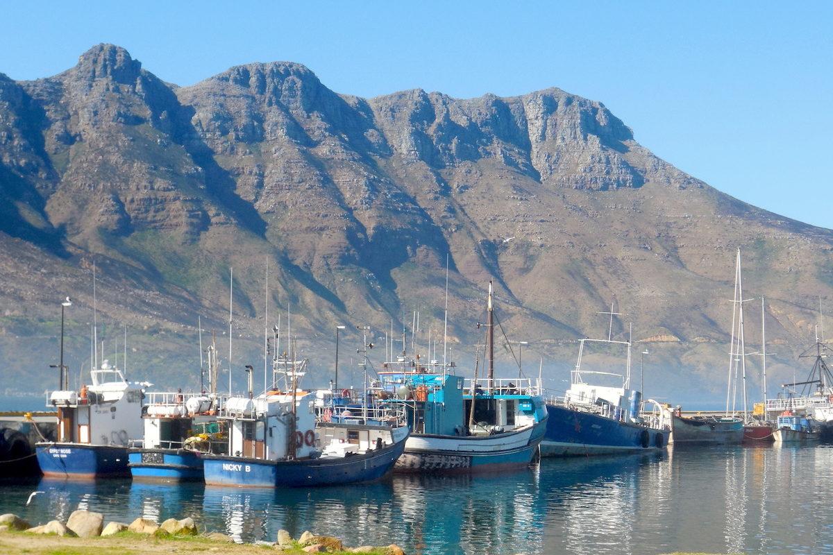 Hout Bay Hafen, Kapstadt
