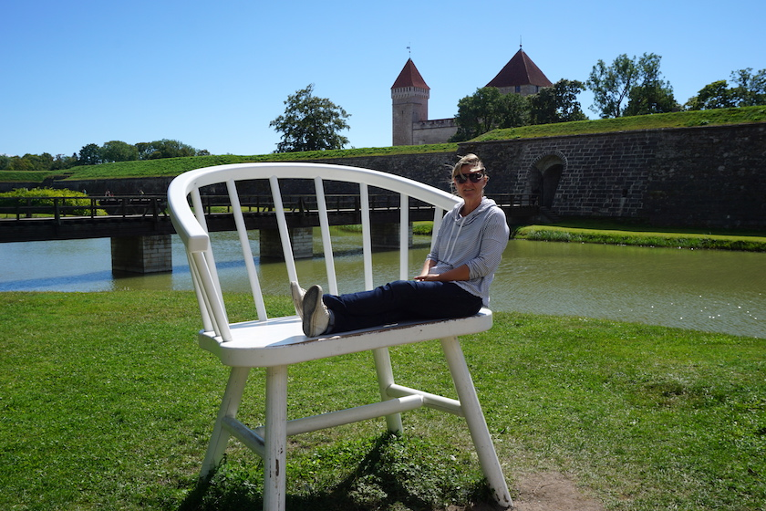 Saarema, Inselhauptstadt Kuressaare