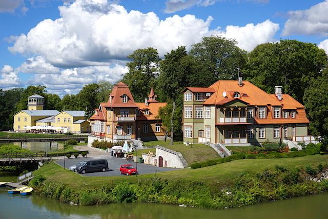 Saaremaa, Kuressaare Inselhauptstadt