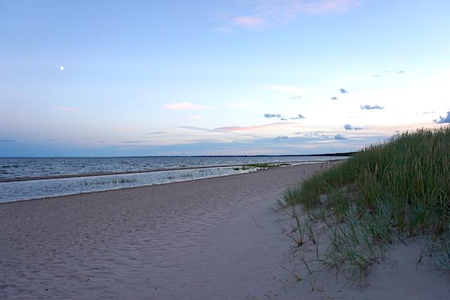 Insel Saaremaa, Strand, Estland