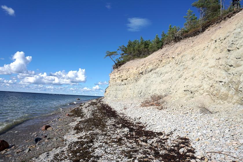 Steilküste Panga, Saaremaa, Estland