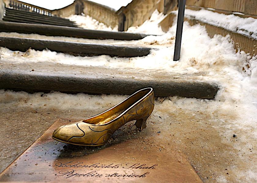 Aschenbrödels Schuh, Schloss Moritzburg