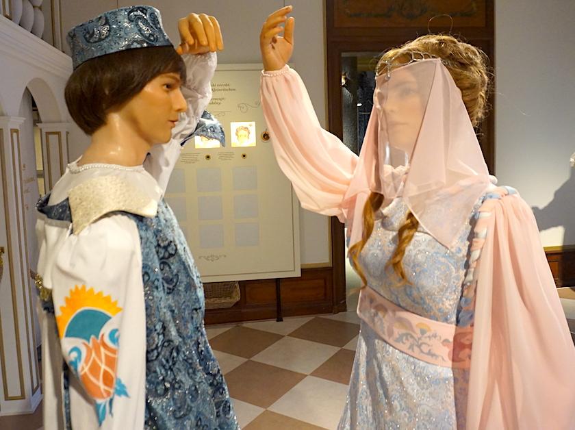 Drei Haselnüsse für Aschenbrödel, Winterausstellung Moritzburg