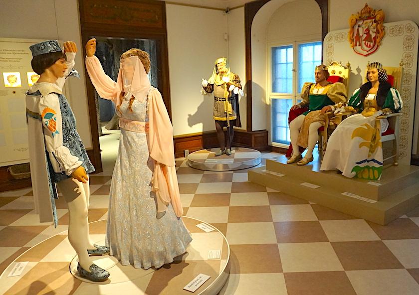 Drei Haselnüsse für Aschenbrödel, Winterausstellung Schloss Moritzburg