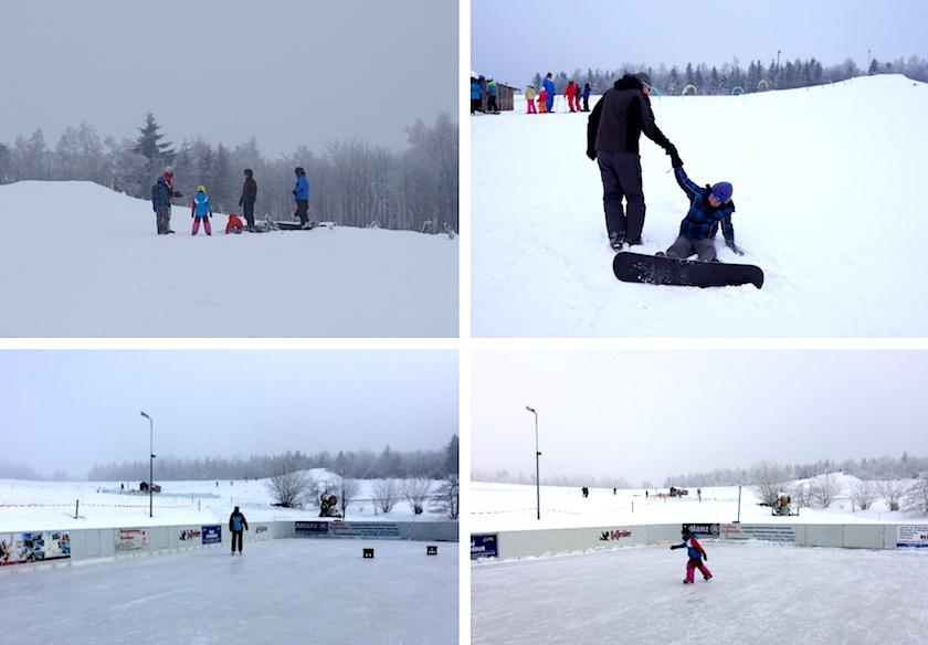 Erzgebirge Familienurlaub Winter