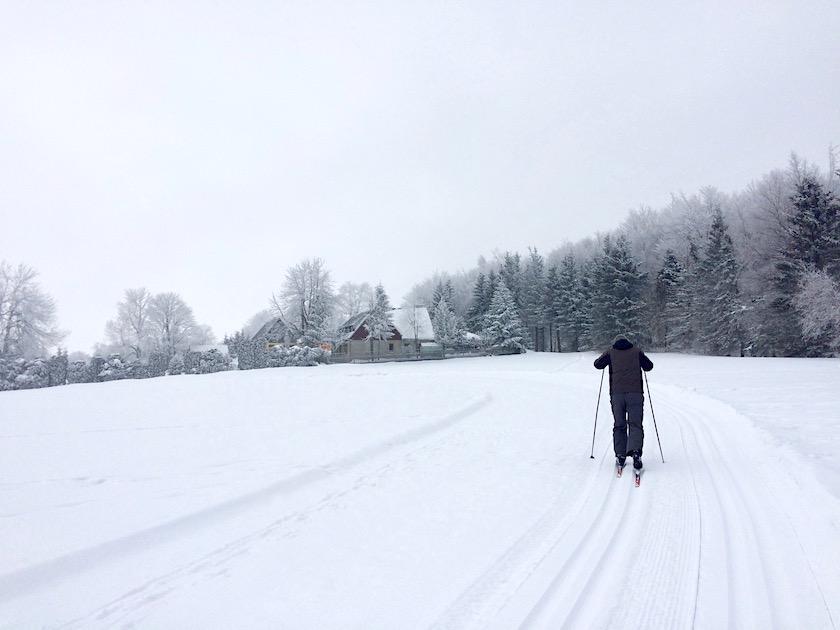 Erzgebirge Skilanglauf