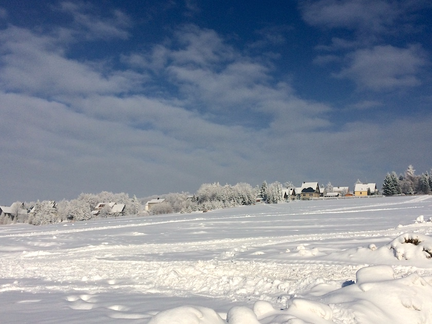 Winterurlaub Erzgebirge