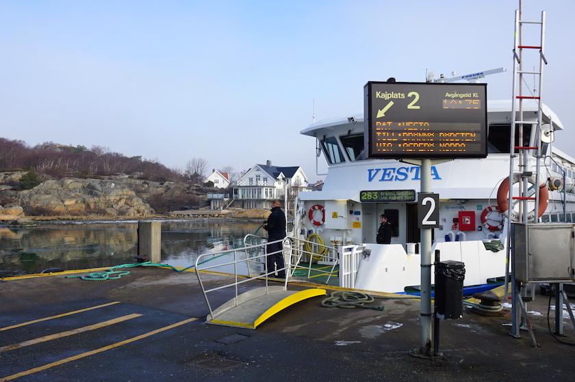 Göteborg Hafen Saltholmen Schärenboote