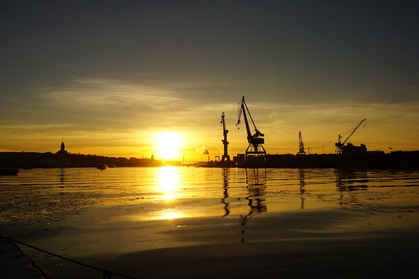 Göteborg_Sonnenuntergang