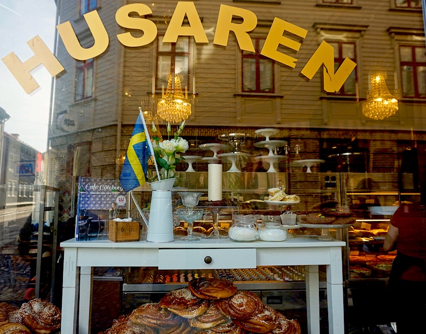 Göteborg Cafe Husaren