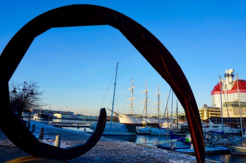 Göteborg Lille Bommen Hafen